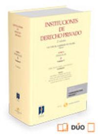 Instituciones de derecho privado tomo i personas
