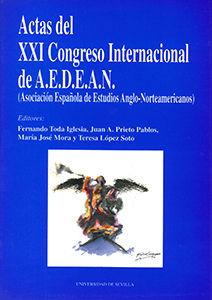 Actas del xxi congreso internacional de a.e.d.e.a.n.
