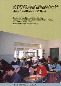 Implantacion de la logse en centros educacion secundaria