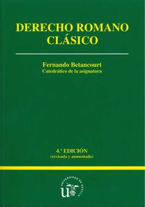 Derecho romano clasico 4ªed