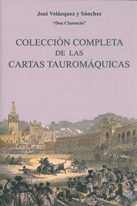 Coleccion completa de las cartas tauromaquicas