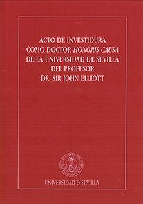 Acto de investidura como doctor honoris causa de la universi
