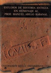 Estudios de historia antigua en homenaje al profesor manuel