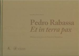Pedro rabassa et in terra pax