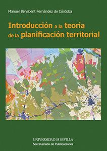 Introduccion a la teoria de la planificacion territorial