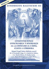 Synodicom baeticum iii constituciones conciliares sinodales