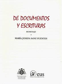 De documentos y escrituras.
