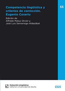 COMPETENCIA LINGÜISTICA Y CRITERIOS DE CORRECCION