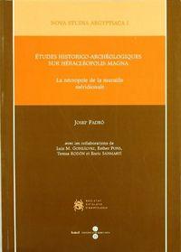 Etudes historico-archeologiques sur heracleopolis magna.