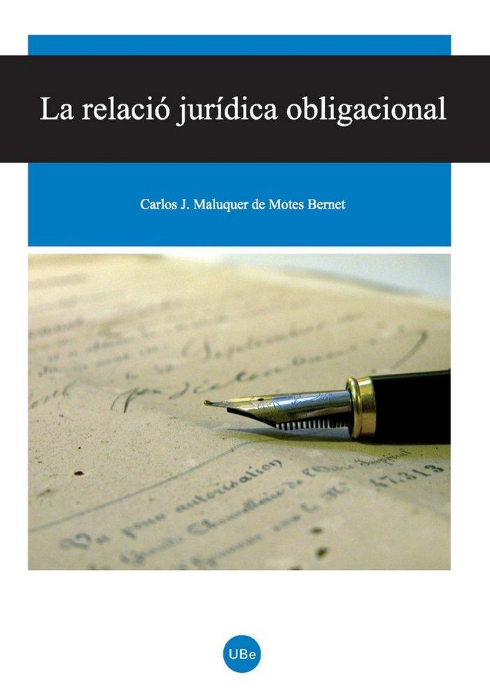 Relacio juridica obligacional,la
