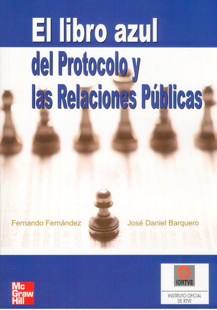 Libro azul del protocolo y las relaciones publicas
