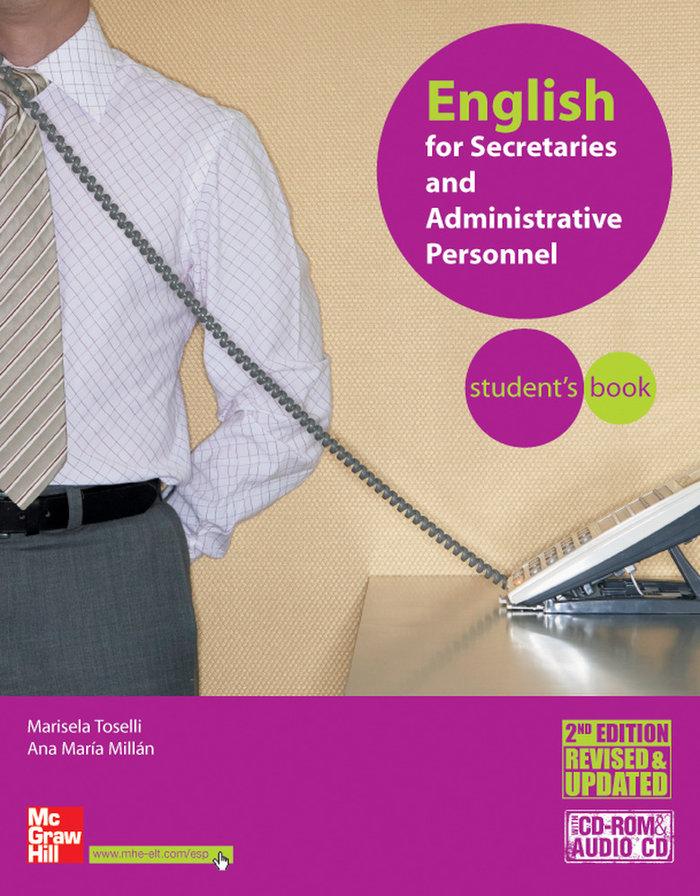 English for secretaries+cd st 06