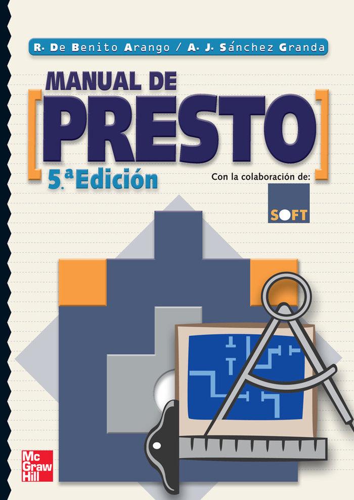 Manual presto 5ªed