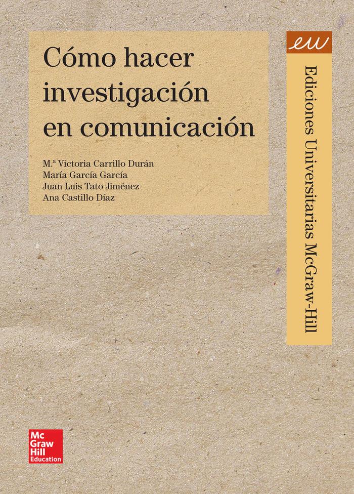 Investigar en comunicacion