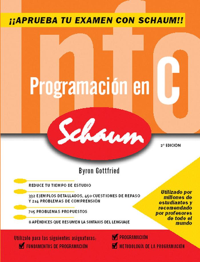 Programacion en c 2ª ed nueva schaum