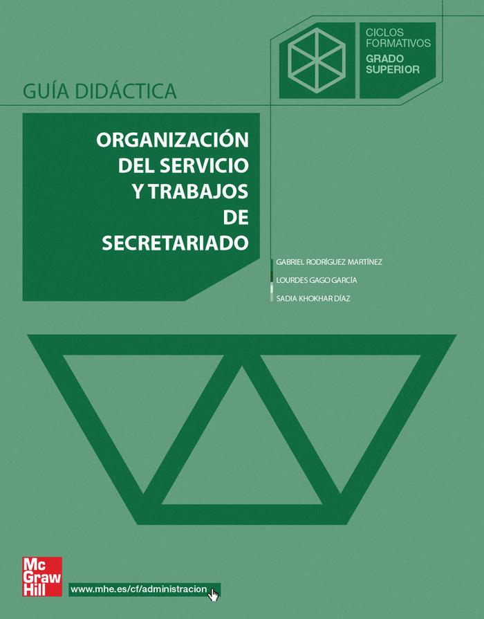 Organizacion serv.trab.secretariado gs 05 cf