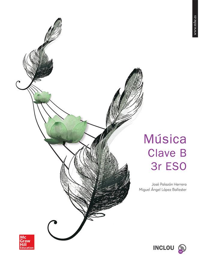 Musica 3ºeso clave b +2cd valencia 15