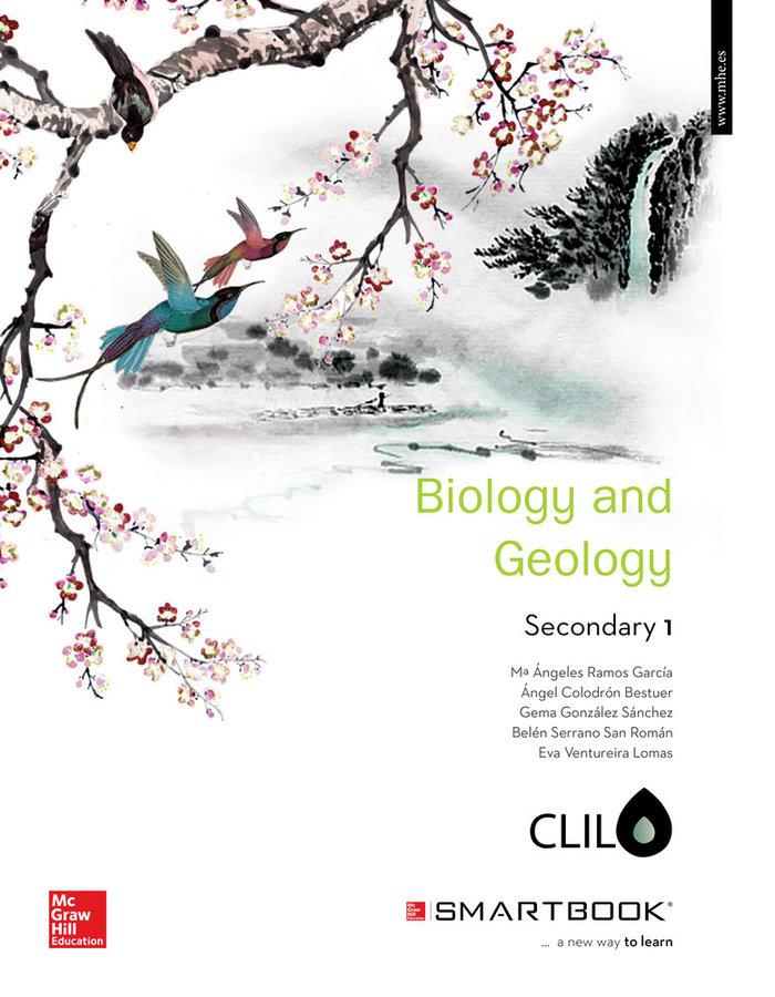 Biology geology 1ºeso +smartbook clil 16