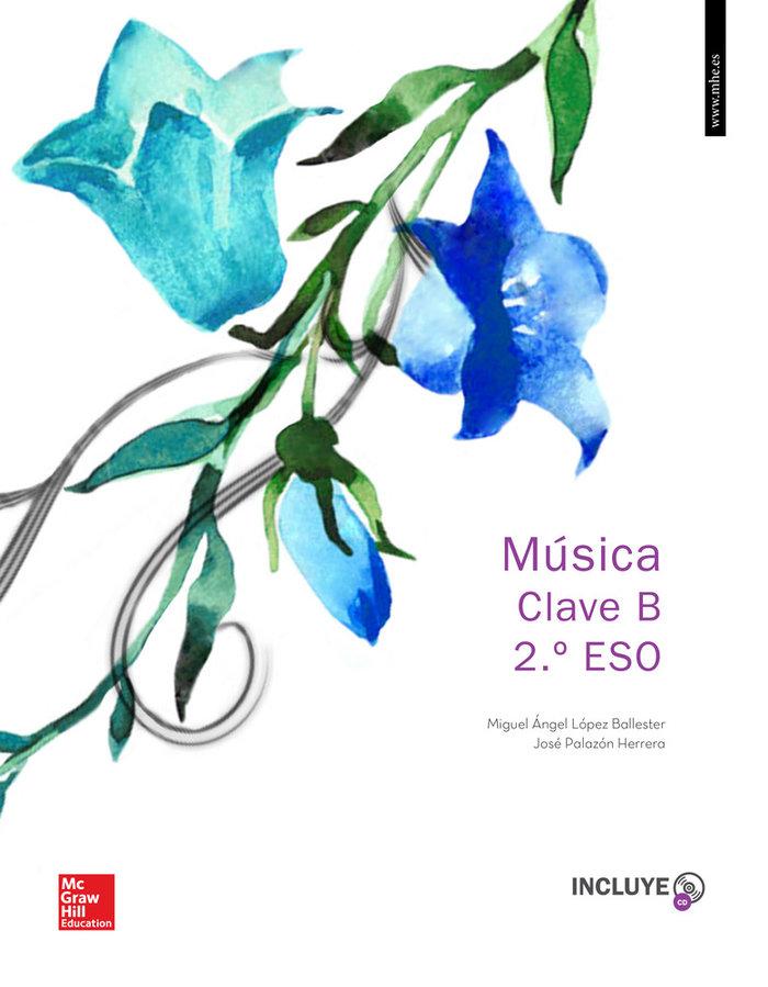 Musica 2ºeso clave b +cd 16              mcgmu32es
