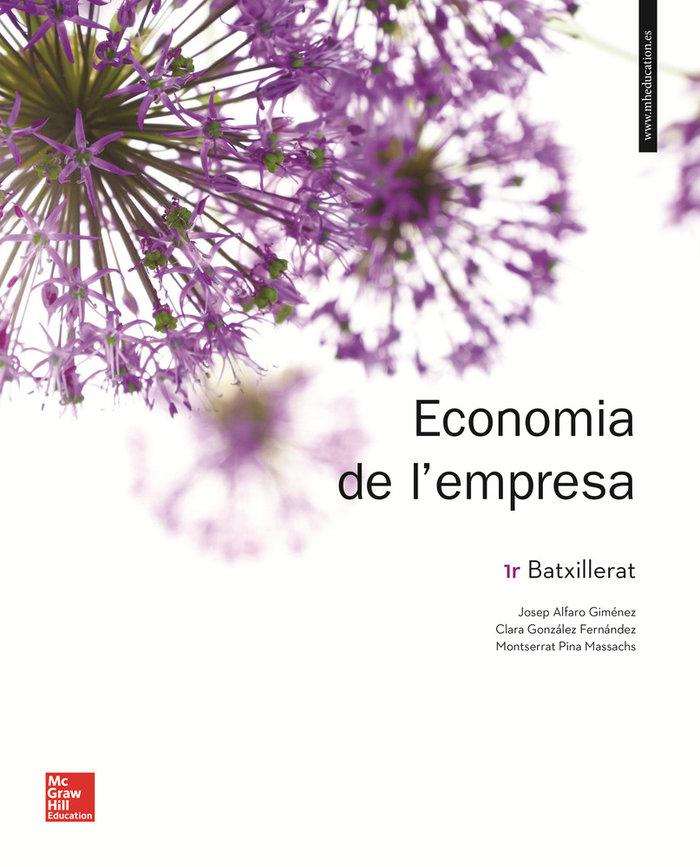 Economia de l'empresa 1 batxillerat llibre alumne