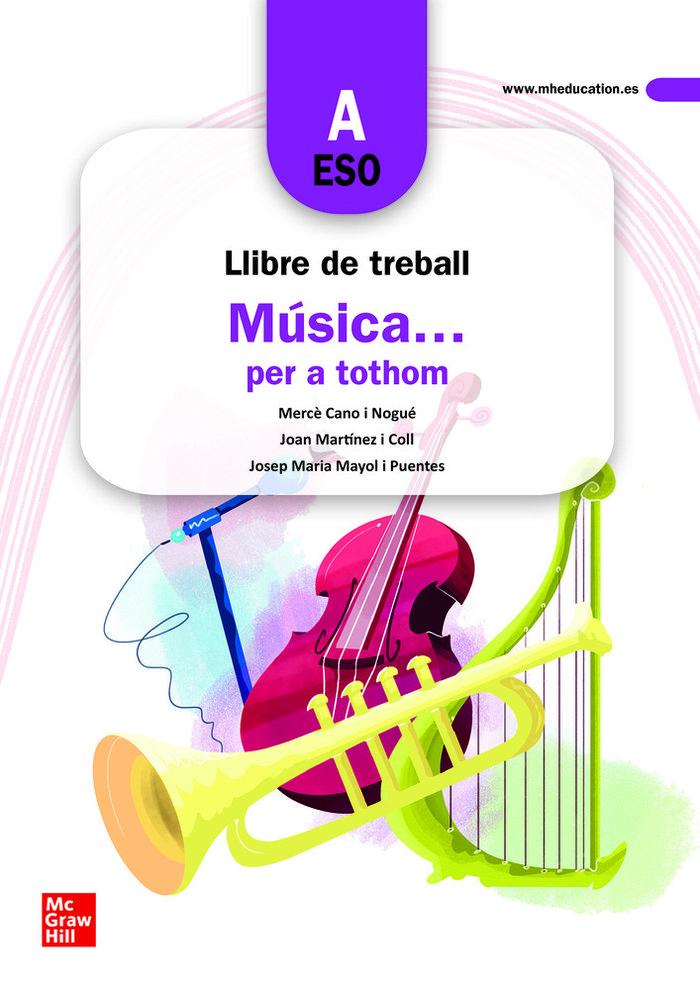 Quadern musica per a tothom a 1º eso 2019