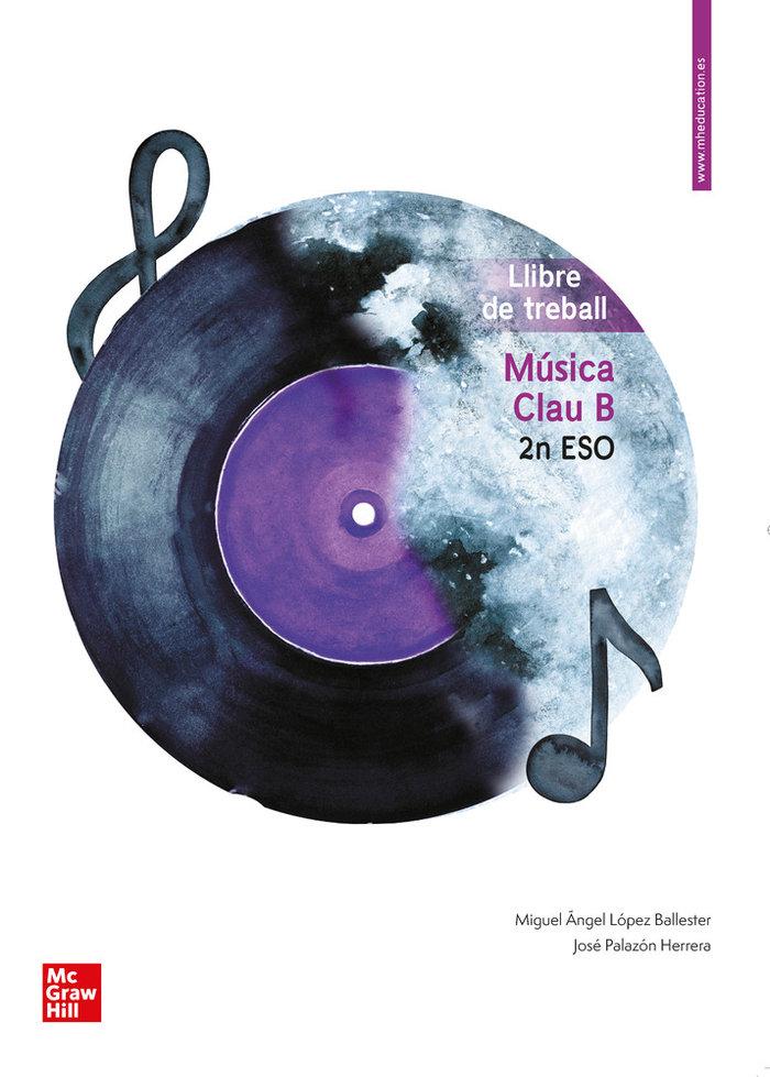 Quadern musica clave b 2ºeso valencia 20