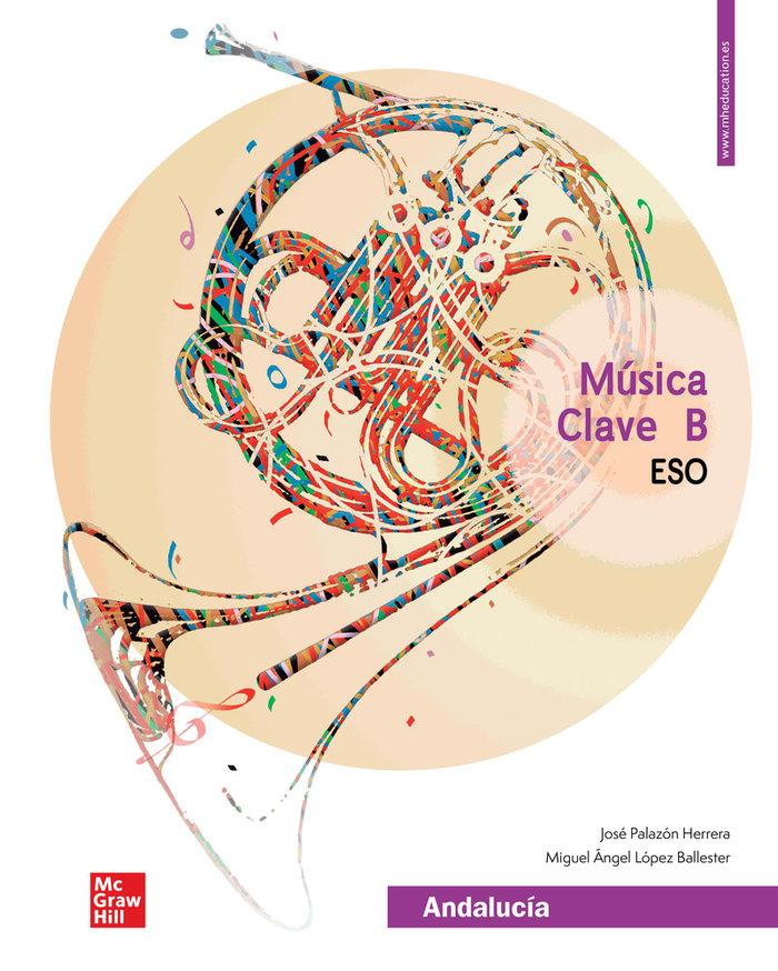 Musica 2º/3ºeso clave b andalucia 21