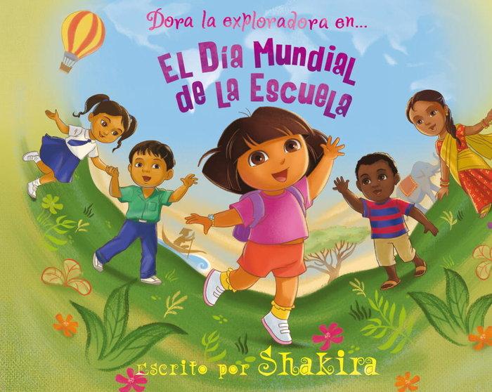 Dora exploradora en el dia mundial de la escuela
