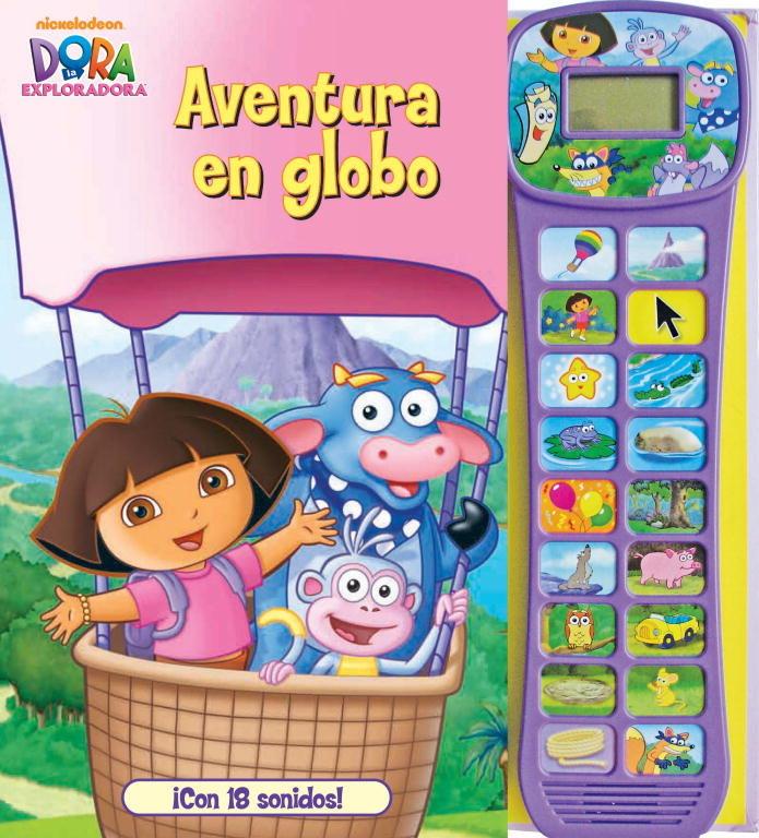 Dora la exploradora aventura en globo