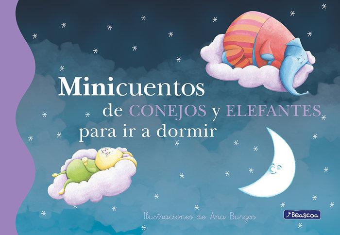 Minicuentos de conejos y elefantes para ir a dormir