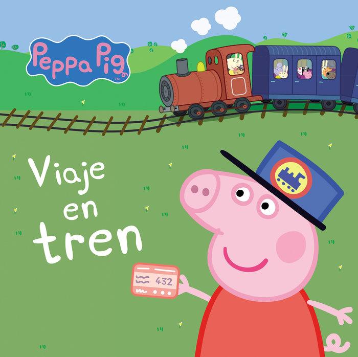 Viaje en tren peppa pig