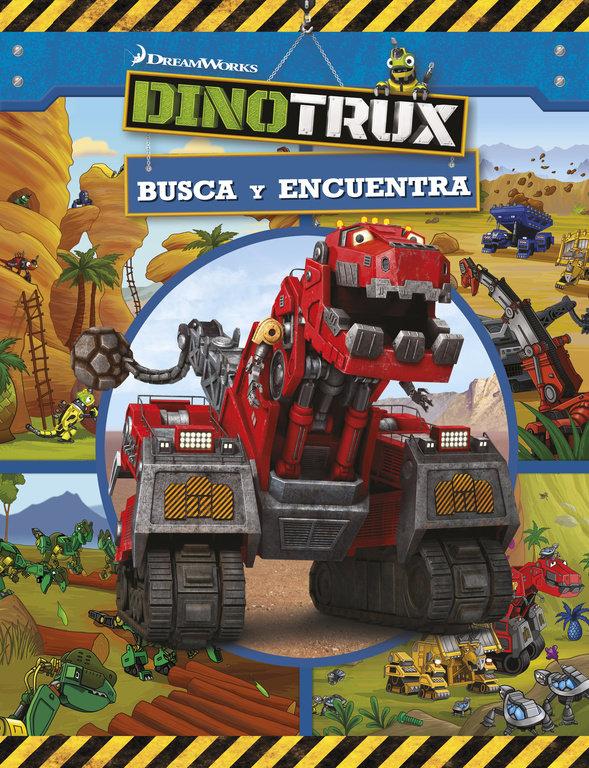 Busca y encuentra dinotrux actividades