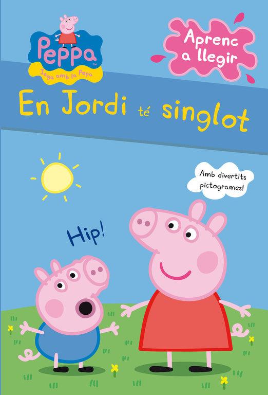 En jordi te singlot (la porqueta pepa. pictogrames)