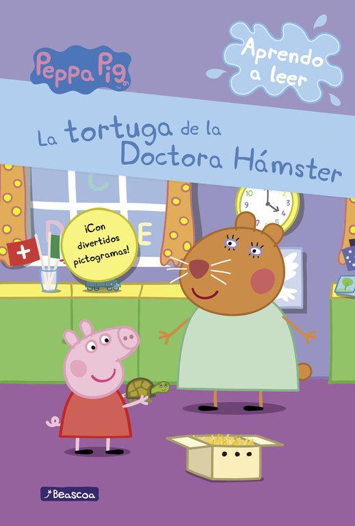 Peppa pig la tortuga de la doctora hamster