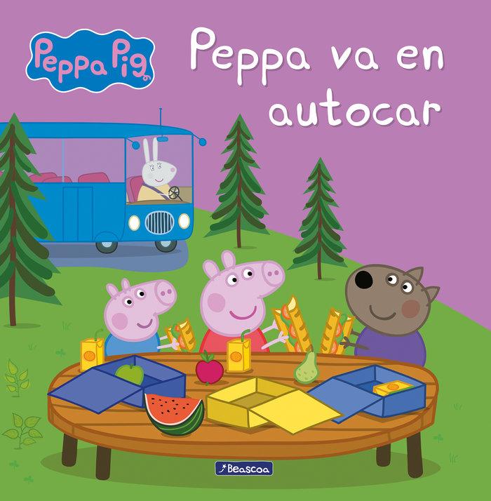 Peppa va en autocar