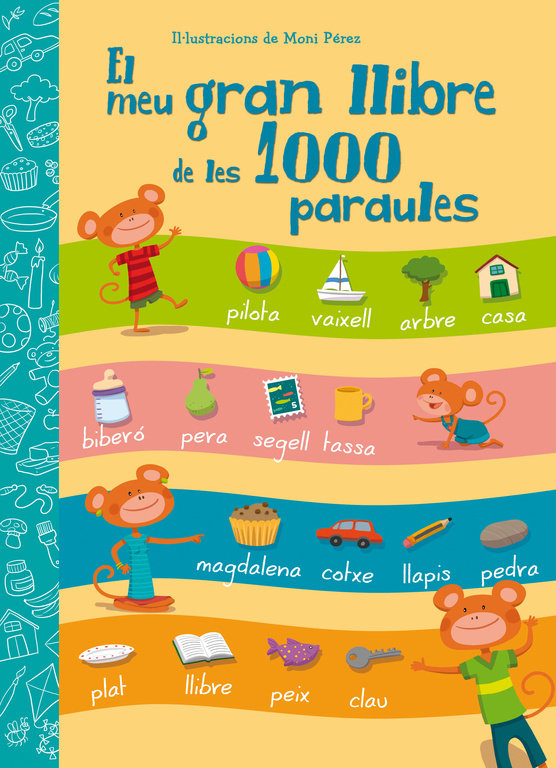 Meu gran llibre de les 1000 paraules,el