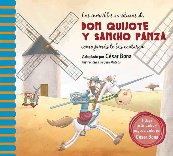 Increibles aventuras de don quijote y sancho