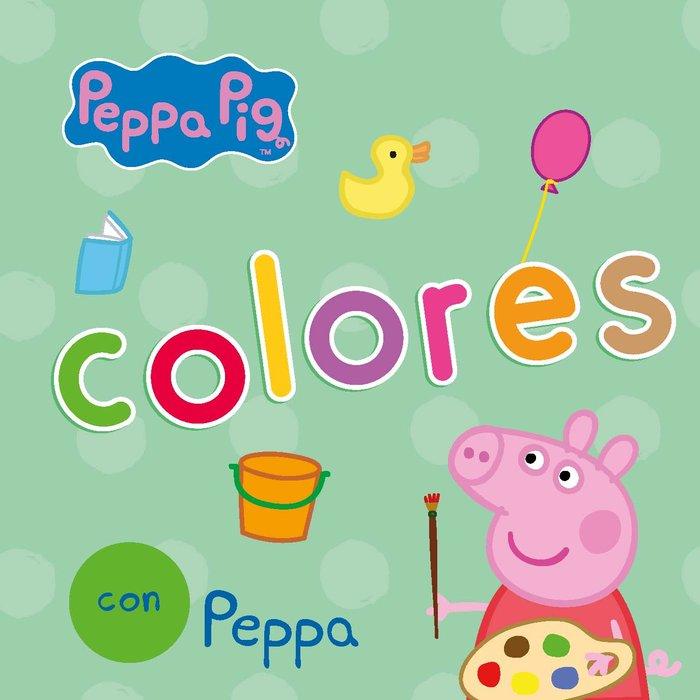 Colores con peppa pig todo carton