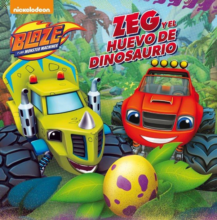 Zeg y el huevo de dinosaurio blaze y los monster machines