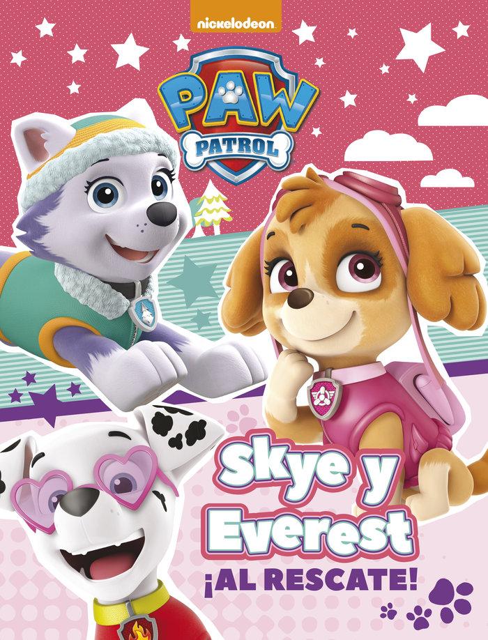 Skye y everest al rescate patrulla canina