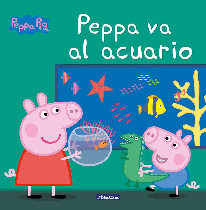Peppa pig va al acuario
