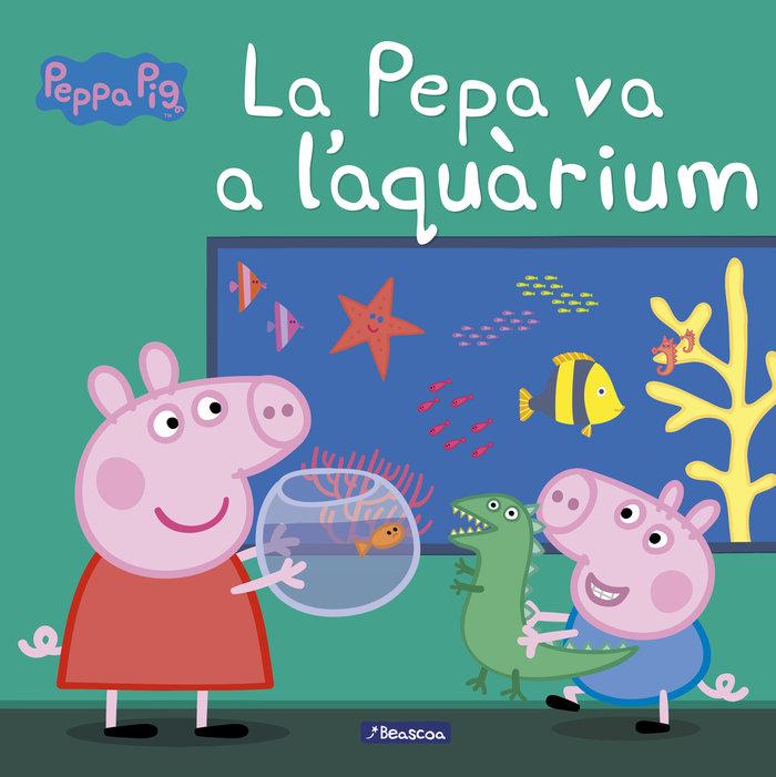 Pepa va a l'aquarium (la porqueta pepa. primeres lectures),l