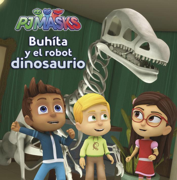 Pj masks buhita y el robot dinosaurio