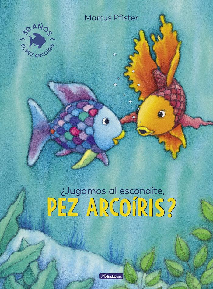 Jugamos al escondite pez arcoiris
