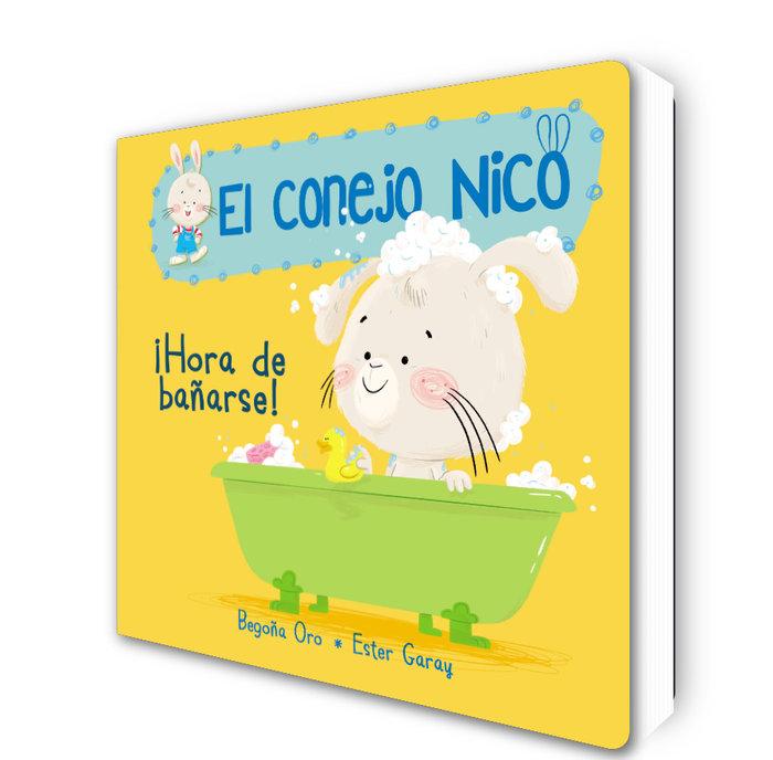Hora de bañarse el conejo nico 2