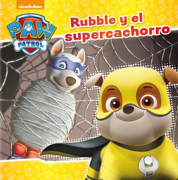 Rubble y el super cachorro (paw patrol - patrulla canina. pr