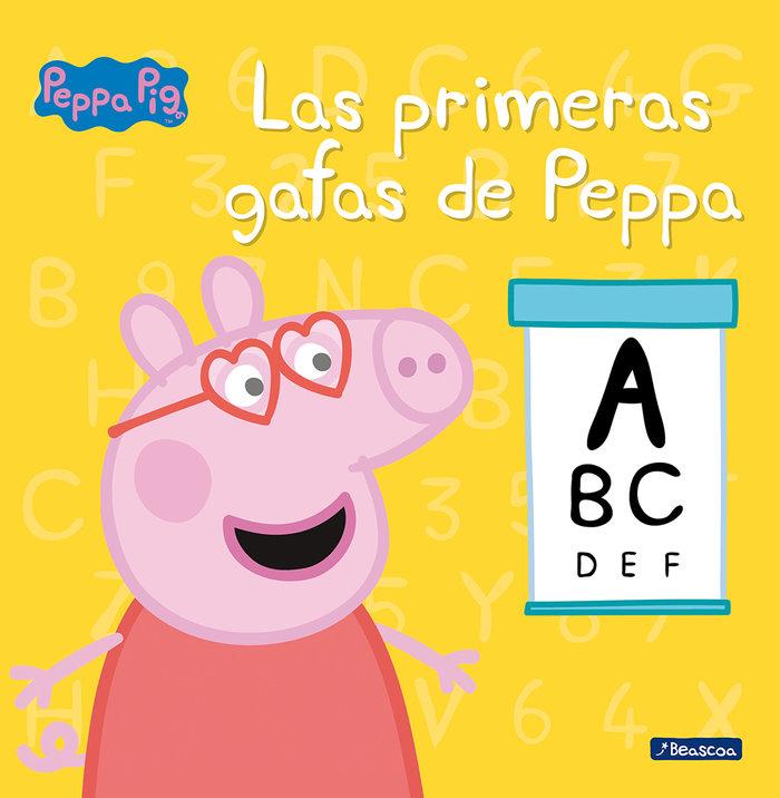 Primeras gafas de peppa (peppa pig),las