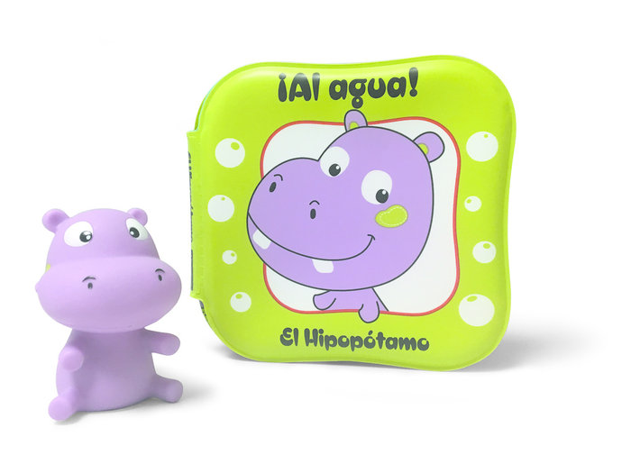 Al agua el hipopotamo libro baño
