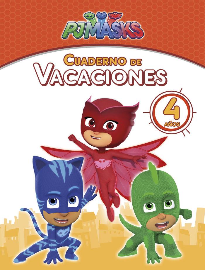 Pj masks cuaderno de vacaciones 4 años