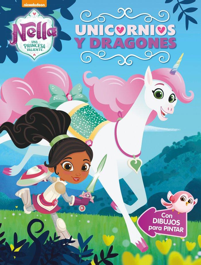 Unicornios y dragones (nella, una princesa valiente. activid